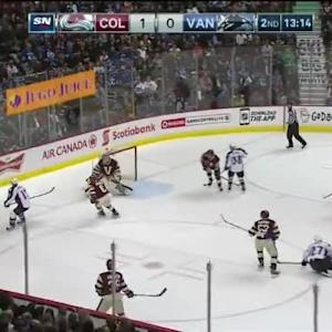 Eddie Lack Save on Freddie Hamilton (06:47/2nd)