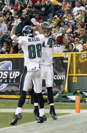 Eagles' Cooper making news on the field now