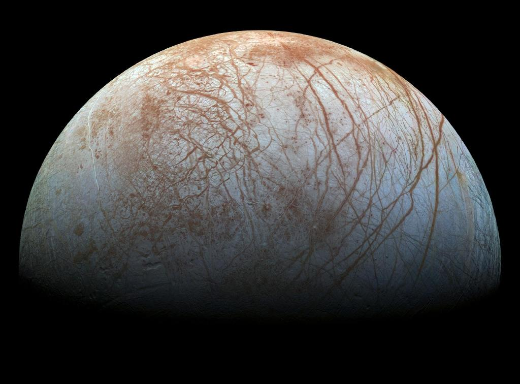 NASA selects celestial tool box bound for Jupiter moon Europa