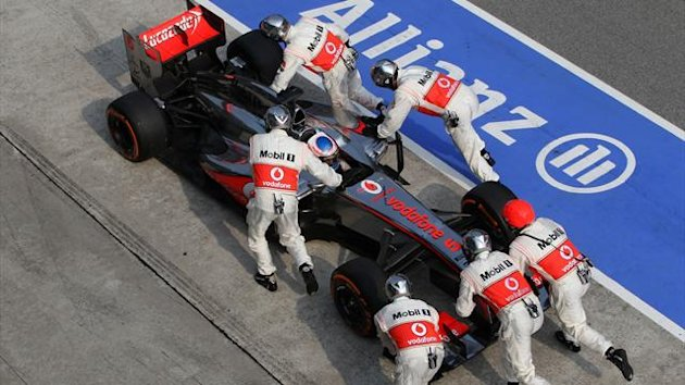 2013 Malaysian GP McLaren Button