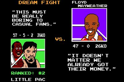 Mayweather vs. Pacquiao re-imagined in a hilarious 'Punch-Out!!' video