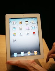 iPad 2,  the second generation iPad