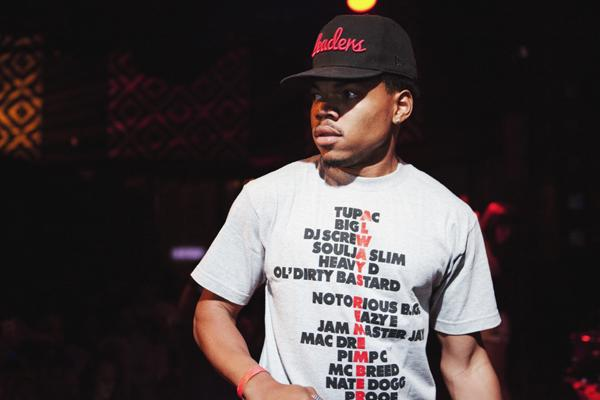 Chicago's Chance the Rapper Is Ready to Go in New York