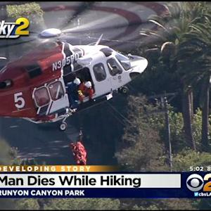 Man Dies While Hiking In Hollywood Hills Park