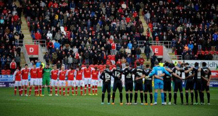 Soccer - Sky Bet League One - Rotherham United v Stevenage - New York Stadium
