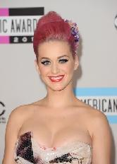 Katy Perry's flawless makeup at the 2011 AMAs -- Getty Images