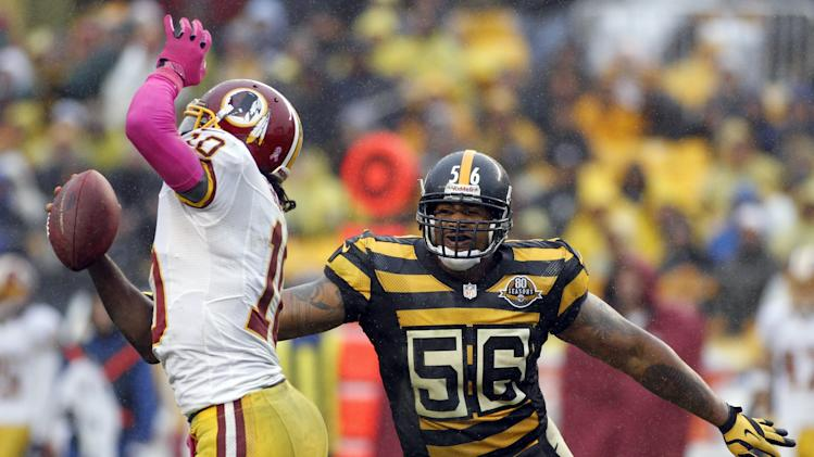 Washington Redskins v Pittsburgh Steelers