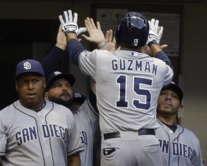 Braun suspended and Padres beat Brewers 5-3