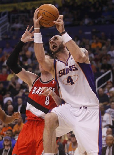Suns beat Trail Blazers 125-107