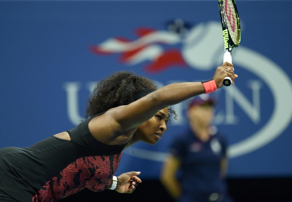 Top seed Serena resumes US Open history chase