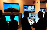 South Korea's LG Electronics said Wednesday it swung to a net profit in the first three months of the year thanks to a marked improvement in its flat-screen TV and handset operations