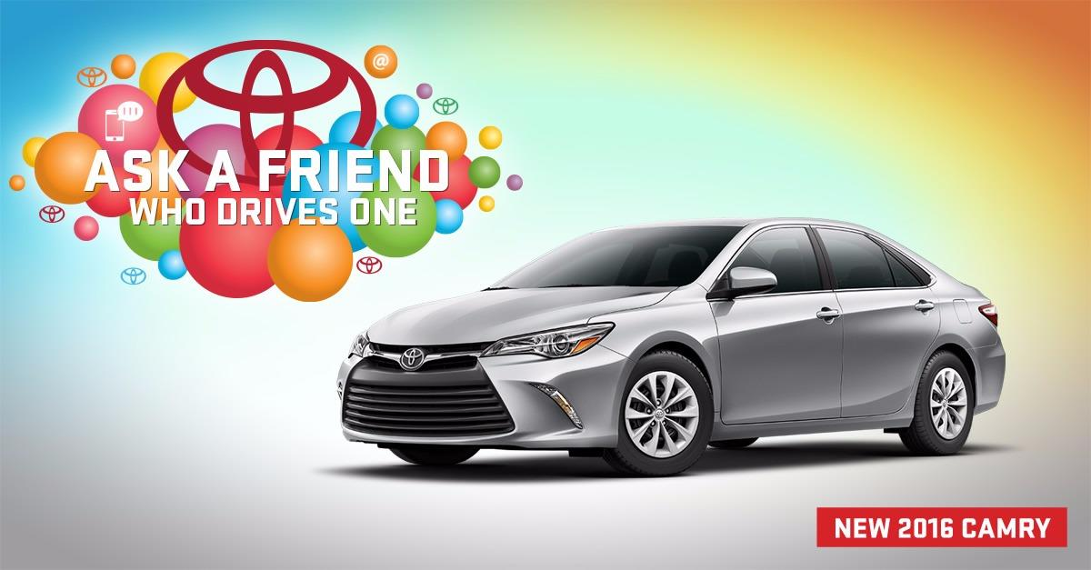 0% APR Financing for 60 month on New 2016 CAMRY