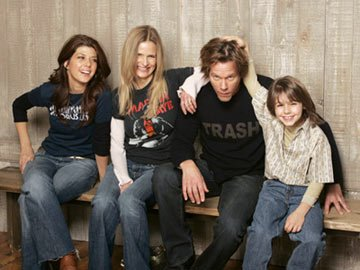 Marisa Tomei, Kyra Sedgwick, director Kevin Bacon and Dominic Scott Kay