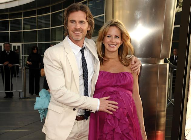 Actress Missy Yager (girlfriend of True Blood's Sam Trammel) is 43 and pregnant