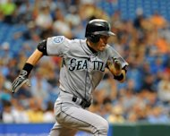 The Seattle Mariners have traded Japanese star Ichiro Suzuki, pictured on July 22, to the New York Yankees for a pair of minor league pitchers, the Mariners announced Monday