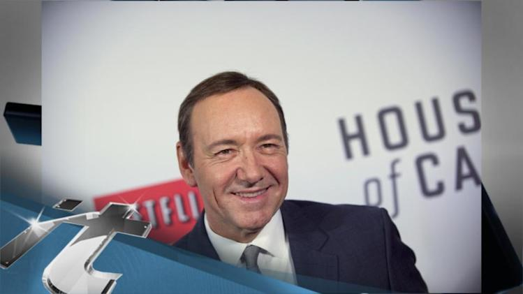Emmy News Pop: 2013 Emmy Drama Acting Nominees: House of Cards's Kevin Spacey and Scandal's Kerry Washington Rock the TV Vote!