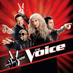 'The Voice' judges in a promo shot for Season 2, 2012  -- NBC