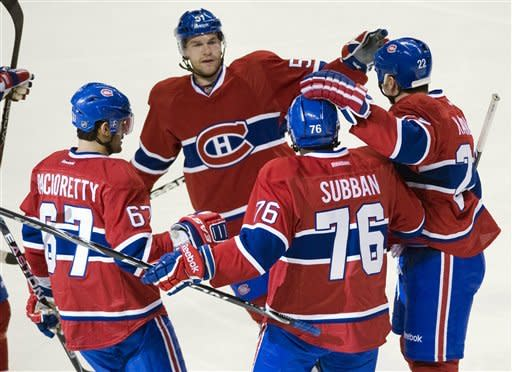 Canadiens beat Wild in shootout, 5-4