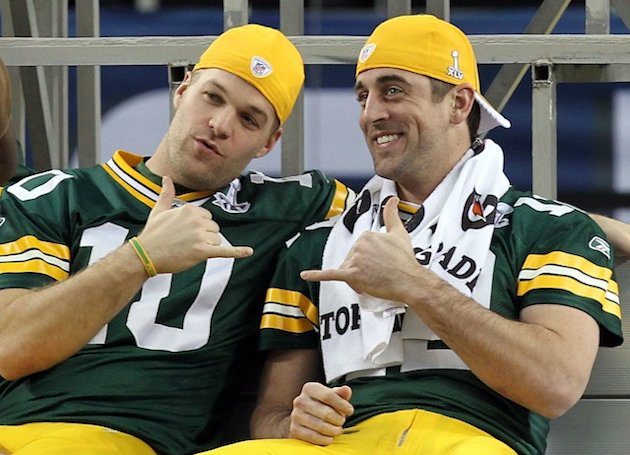 Aaron Rodgers called MATT FLYNN a 'top-15 quarterback.' Is that a compliment?