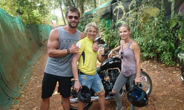 Chris Hemsworth and wife Elsa Pataky pushed to their limits on adventure show