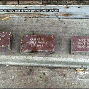 Wrigley Field Commemorative Bricks Found In Landfill