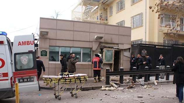 'Terrorist Blast' at US Embassy in Turkey (ABC News)