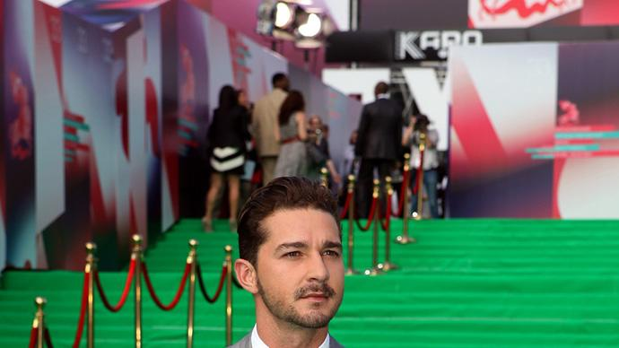 Transformers Dark of the Moon 2011 Moscow Premiere Shia LaBeouf