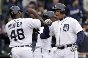 Cabrera's HR, 4 RBIs lead Tigers over Blue Jays