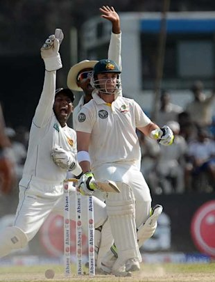 The LBW of Phil Hughes in the Kandy Test and prompted Simon Taufel to use it as a an instance of Hawk-Eye&amp;#39;s failing. 