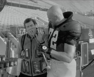 Adam Sandler and Todd Holland (II) in Touchstone's The Waterboy