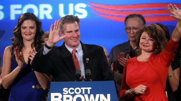 Can Scott Brown Replace John Kerry if He's Making Up Stuff About the Cliff?