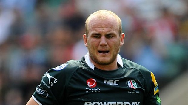 Matt Garvey, London Irish