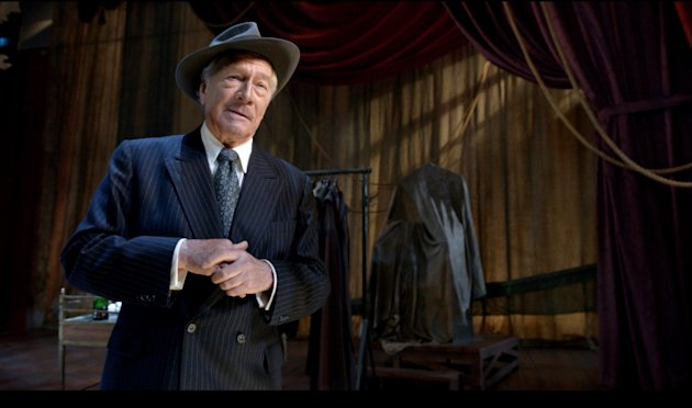 This film image released by Image Entertainment shows Christopher Plummer portraying John Barrymore in &quot;Barrymore.&quot; (AP Photo/Image Entertainment)