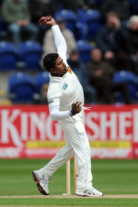 Rangana Herath picked up four wickets for the hosts