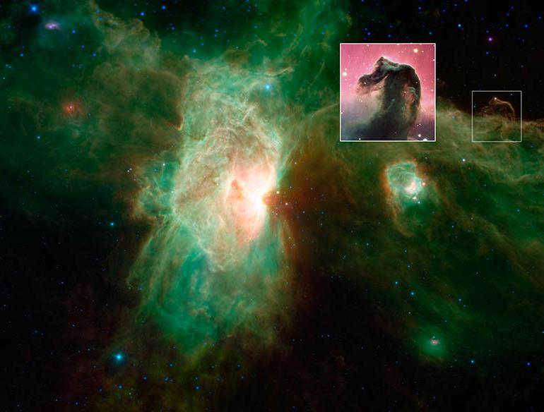 Infrared shows us the Horsehead Nebula as never seen before