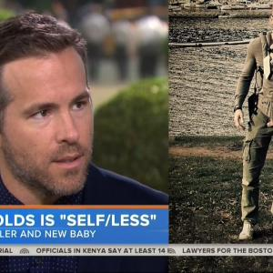 Ryan Reynolds On How He Messed Up Carrying His Daughter James