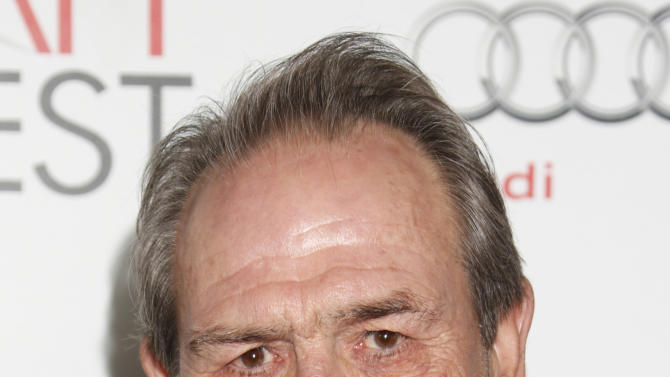 "Tommy Lee Jones arrives at the ""Lincoln"" premiere at AFI Fest at Grauman's Chinese Theatre on Thursday November 8, 2012 in Hollywood, California.   (Photo by Todd Williamson/Invision/AP Images)"