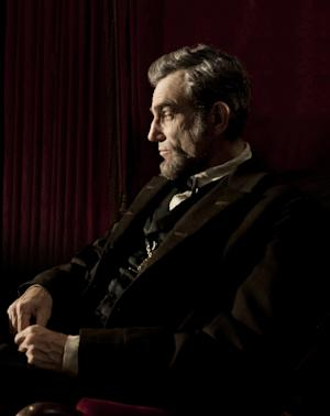 """FILE - This publicity film image released by DreamWorks and Twentieth Century Fox shows Daniel Day-Lewis portraying Abraham Lincoln in the film """"Lincoln.""""  Best-picture prospects for Oscar Nominations on Thursday, Jan. 10, 2013, include, """"Lincoln,"""" directed by Steven Spielberg; """"Zero Dark Thirty,"""" directed by Kathryn Bigelow; """"Les Miserables,"""" directed by Tom Hooper; """"Argo,"""" directed by Ben Affleck; """"Django Unchained,"""" directed by Quentin Tarantino; and """"Life of Pi,"""" directed by Ang Lee.  (AP Photo/DreamWorks, Twentieth Century Fox, David James, file)"""