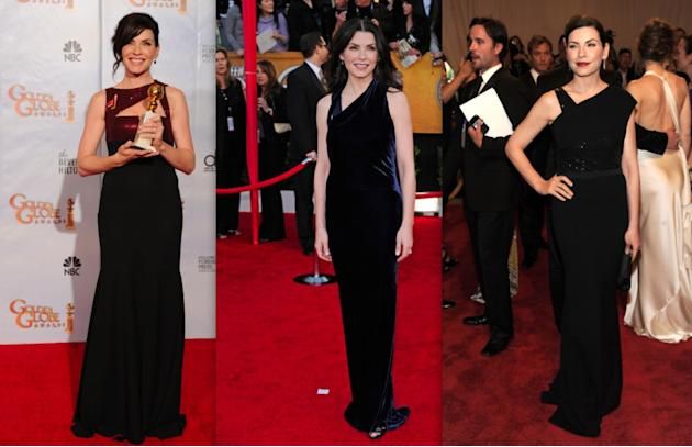 Julianna Margulies' Narciso Rodriguez gowns