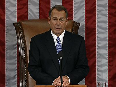 Boehner Keeps Job As New Congress Opens