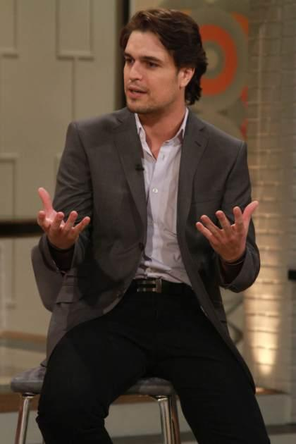 'The Bible's' Diogo Morgado stops by Access Hollywood Live on March 29, 2013 -- Access Hollywood