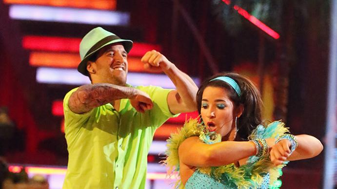 Mark Ballas and Alexandra Raisman (4/29/13)