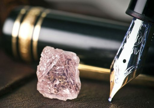 Rio Tinto produces more than 90 percent of the world's pink diamonds from its Argyle mine in Australia