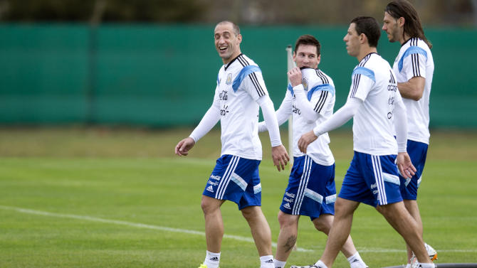 Argentina is the big favorite in Group F