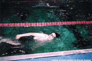 Freedom swimmer Ian Soules