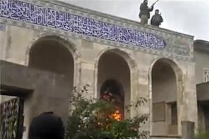 Syria rebels 'attacked' religious sites
