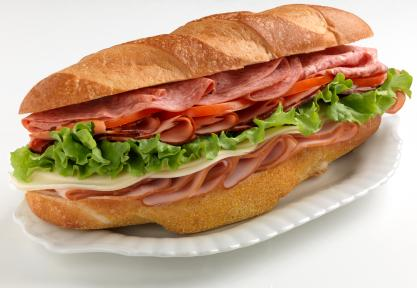 Sexist Sub, aka Hostage Hoagie, aka Girlfriend Grinder (depending on regionalism)