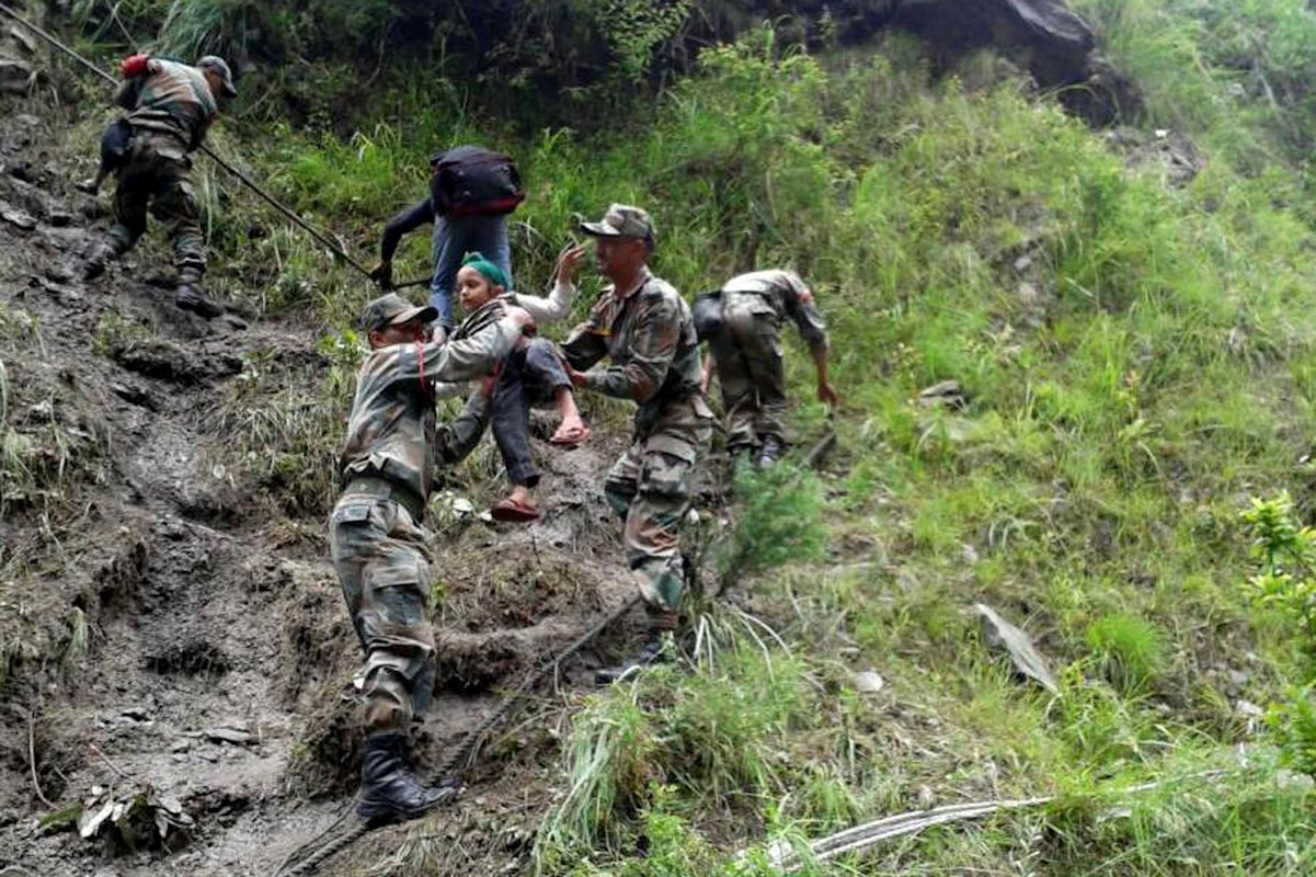 indian army india flood