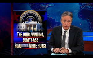Jon Stewart Is Over Primary Season