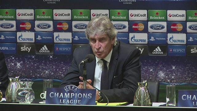Pellegrini furious with officials after 'chaotic' Champions League exit